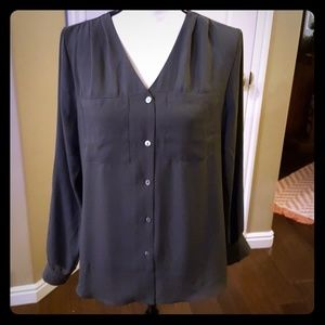 Grey dress top